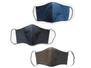 牧之原産織物/日本製  牧之原織物 洗える立体マスク 3色/2サイズ展開