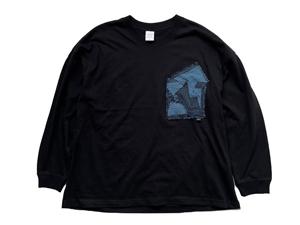 牧之原産織物/日本製 × Revolla Loose Long sleeve T-shirt
